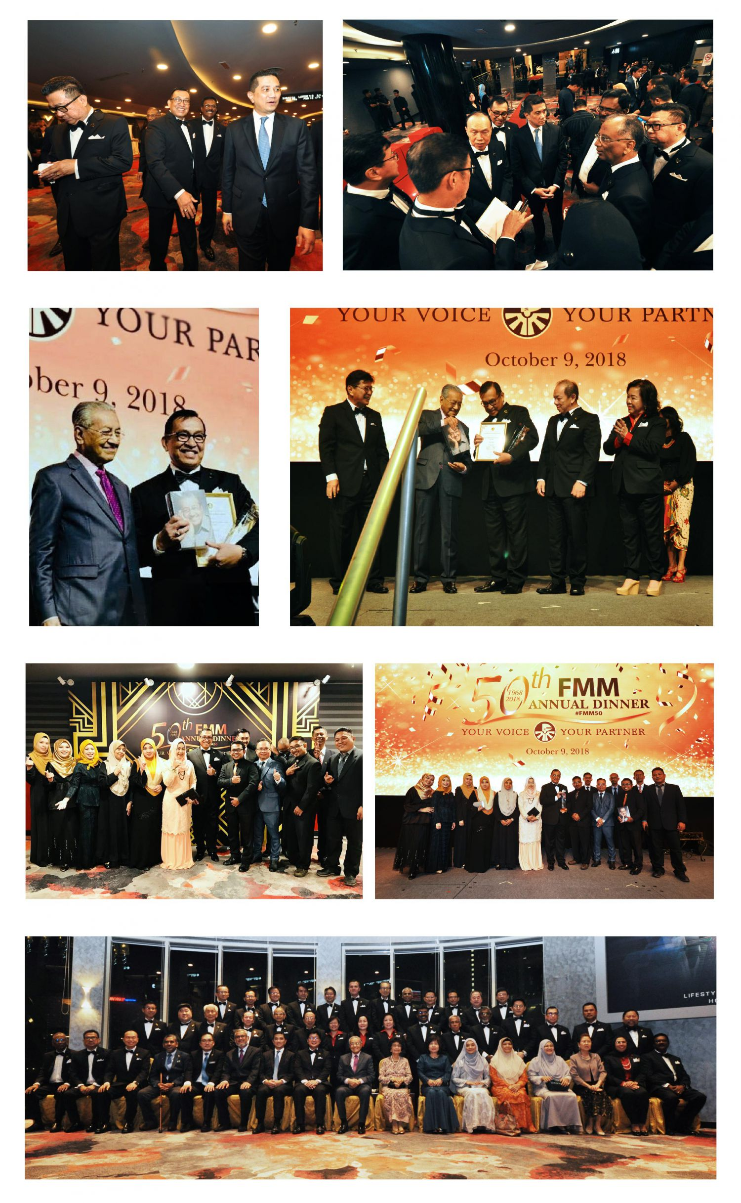 50TH FMM (FEDERATION OF MALAYSIAN MANUFACTURERS) ANNUAL